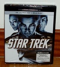 STAR TREK-4K ULTRA HD+BLU-RAY-SEALED-CASTELLANO-PRECINTADO-NUEVO-CIENCIA FICCION