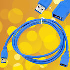 5 FT USB 3.0 A Male Plug To USB 3.0 A Female Socket Extension Cable Cord EMI