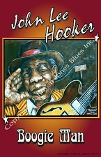 Poster of John Lee Hooker Boogie Man by Cadillac Johnson