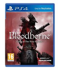 Bloodborne GAME OF THE YEAR GOTY ps4 Nuovo E Sigillato E In Magazzino