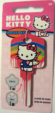 HELLO KITTY BLANK HOUSE KEY FOR 5 PIN KWIKSET KW1 CAN BE PUNCHED TO YOUR CODE