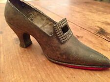 Vintage Mini Antique Ladies Buckle Shoe Figurine