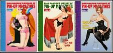 DIAN HANSON'S ~ HISTORY OF PIN-UP MAGAZINES ~ SET OF 3 HC ~ SLIPCASED GIFT ED