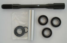 G1321.02A8, Buell Rear Axle & Bearing Kit, 2003-2010 XB Models with 3 Bearings