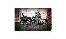 1983 Honda Vf1100C Bike Motorcycle A4 Photo Poster
