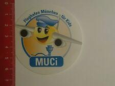 Aufkleber/Sticker: Flughafen München für Kids Muci (161016154)