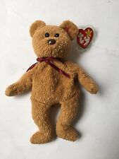 RARE Curly ty Beanie Baby Bear W/ERRORS 1993 see desc. for errors