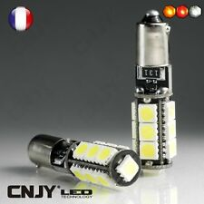 2 AMPOULE LED H6W BAX9S CORE 13LED ANTI ERREUR ODB 6000K CITROEN C4 PICASSO 2007