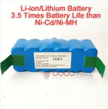 6000mAh Li-ion Battery For iRobot Roomba 500 532 540 550 560 570 580 R3