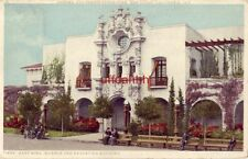 EAST WING SCIENCE AND EDUCATION BLDG. PANAMA-CALIFORNIA EXPO SAN DIEGO, CA 1917