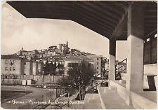 FERMO - PANORAMA DAL CAMPO SPORTIVO - STADIO (ASCOLI PICENO) 1956