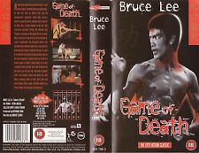 GAME OF DEATH VHS PAL BRUCE LEE,GIG YOUNG,DEAN JAGGER,HUGH O'BRIAN NEW 70'S