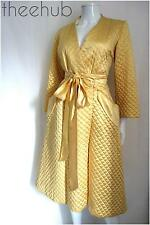 Luxury Vintage 40s La Grande Maison De Blanc Paris House Coat Red Carpet Dress
