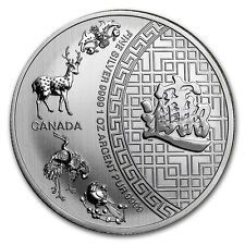 2016 ~ 1~OZ ~ $5 CANADA ~ PURE .9999 SILVER ~ 5 BLESSINGS COIN ~ SEALED ~ $30.88
