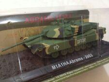 Carro Armato M1A1HA Abrams IFOR 2003 - Scala 1:72 Die Cast - RunSun - Nuovo