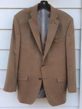 Neiman Marcus Men's Jacket Camel  Cashmere Size L Designer NWT