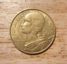 Francese Francia Francais 20 Centesimi Coin 1967