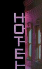 VERTICAL HOTEL ANIMATED SIGN FOR O-SCALE LEFT VIEW- LIGHTS, BLINKS & MORE!