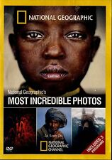NEW DVD //  NATIONAL GEOGRAPHIC //  MOST INCREDIBLE PHOTOS // 150min