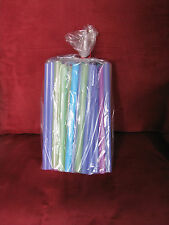 "100 Poly Gusset Clear Open Top Plastic Storage, Gift,Candy, Bags 5"" x 3.5"" x 13"""