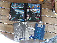 F29 Retaliator by Ocean Amiga Boxed game Complete VERY GOODCondition
