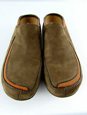 Women's Size 6 Primo Scoop Brown Merrell MOC Suade Leather Slip Ons Mules