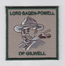 SCOUTS OF THAILAND - World Scout Founder LORD BADEN POWELL (BP) OF GILWELL Patch