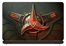 De 15,6 pulgadas Star trek-klingon-laptop Vinilo skin/decal/sticker / cover-lst02
