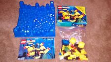 Lego 1728 Crystal Crawler instructions box baseplate sea bed aquanauts aquazone