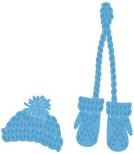 Marianne Design CREATABLES  Cutting & Embossing Die KNITTED HAT & MITTENS LR0440
