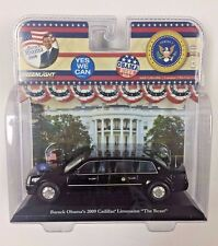 "Barack Obama Limousine ""The Beast"" - Greenlight 86110 - 1/43 Scale Diecast Limo"