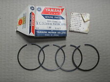 Yamaha 180 YCS1 CS1 piston ring set 4 rings +0.50mm o/s 164-11601-20 genuine NOS