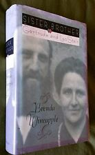 SIGNED by Author Brenda Wineapple: Sister Brother: GERTRUDE and Leo STEIN; FIRST