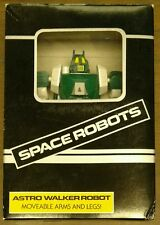 Vintage Astro Walker Robot: Space Robots by Alps Toys w/ Accessories From Japan