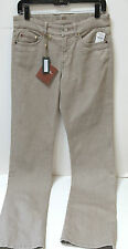 NWT Loro Piana  Womens Guy Madison Denim Tan Jeans 42/6 FS