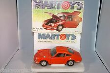 BBURAGO BURAGO MARTOYS 102 PORSCHE 911 S ORANGE MINT BOXED RARE SELTEN RARO!!!