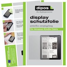 2x Amazon Kindle Oasis Schutzfolie Folie matt Displayschutzfolie dipos