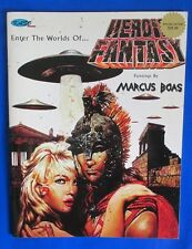 2003 HEROIC FANTASY Paintings by Marcus Boas FN SC Signed #227 Kaso Comics