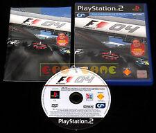 FORMULA ONE 04 F1 Ps2 Versione Ufficiale Italiana 1ª Edizione ••••• COMPLETO