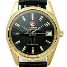 Rado Very Rare Vintage Mens 1960s Golden Horse Gold Plated Automatic Watch J730