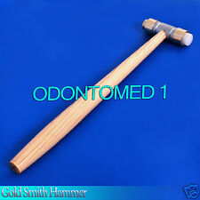 Gold Smith Hammer Brass And Nylon Wooden Handle