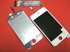 Kit DISPLAY LCD +VETRO TOUCH SCREEN PER APPLE IPOD TOUCH 4° RETINA NUOVO Bianco