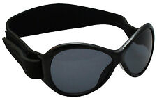 Baby Banz Retro Sunglasses -Midnight  Black 0-2  New