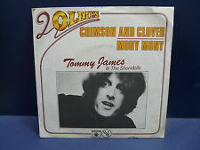 TOMMY JAMES & THE SHONDELLS Crimson and clover / mony mony 101465