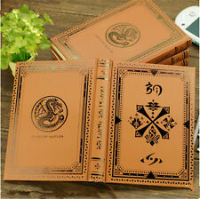 Game Monster Hunter Hardcover Notebook Exercise Magic Book Cos Gift 320 Page MH