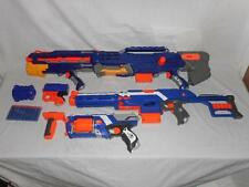 NERF ELITE LONG STRIKE CS-6 + STRONGARM AND MORE LOT, #4
