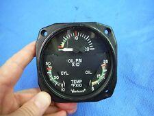Beech Combo Engine Gauge P/N 96-384058 Alt P/N 22-804-032-15 (1015-89)