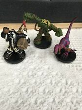 Warcraft Lot (3) Sunscale Scytheclaw Bog Elemental Chen Stormstout Miniature WoW