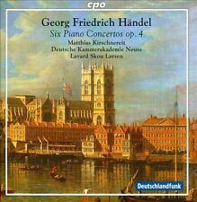 Handel: Six Piano Concertos, Op. 4 Super Audio Hybrid CD (CD, Sep-2013, CPO)