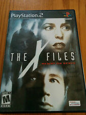 The X Files: Resist or Serve (Sony Playstation 2, 2004) Complete & Tested